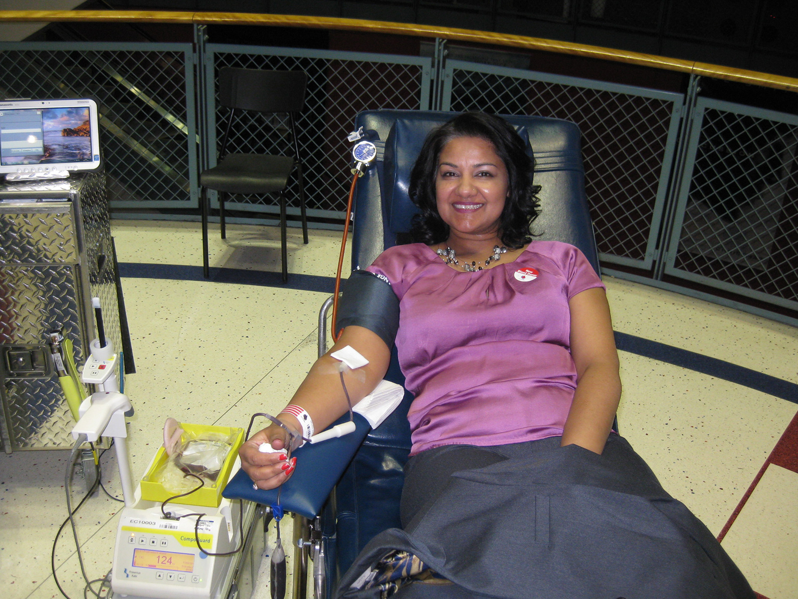 Dr. Shazia Malik Podiatrist Blood Drive